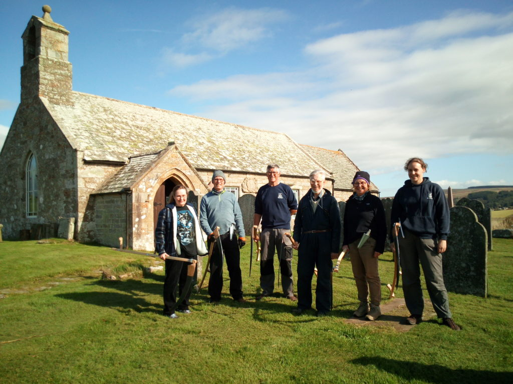 Corsenside Churchyard volunteers